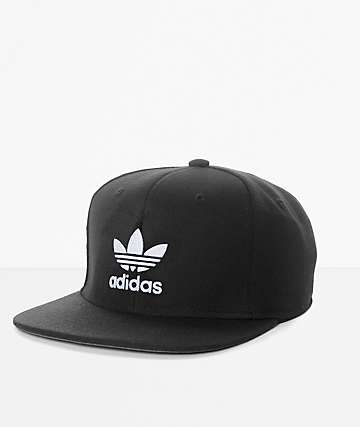 adidas Originals Trefoil AW Black Snapback Hat