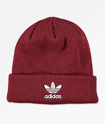 adidas Originals Trefoil Burgundy & White