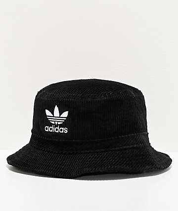 adidas Originals Widewale Corduroy Black Bucket Hat