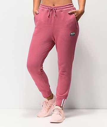 adidas RYV Maroon Jogger Sweatpants