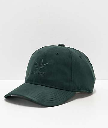 adidas Relaxed Plus Green Strapback Hat 97ab16ca263