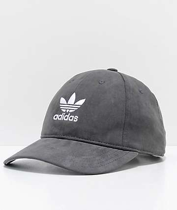 adidas Relaxed Plus gorra strapback en negro para mujeres