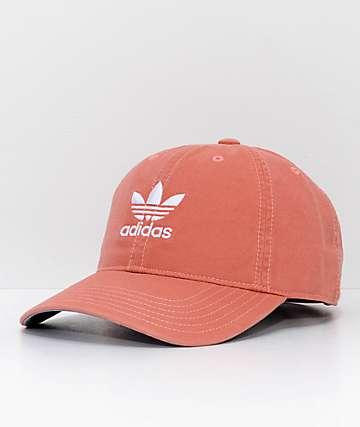 adidas Relaxed Trace Scarlett gorra strapback naranja para mujeres