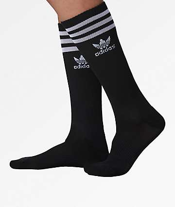adidas Roller Black Knee Socks