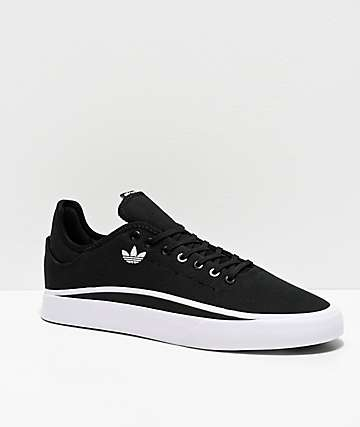 adidas Sabalo Black & White Canvas Shoes
