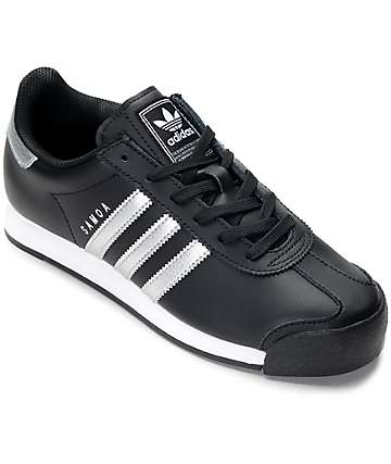 adidas Samoa Black & Silver Women's Shoes