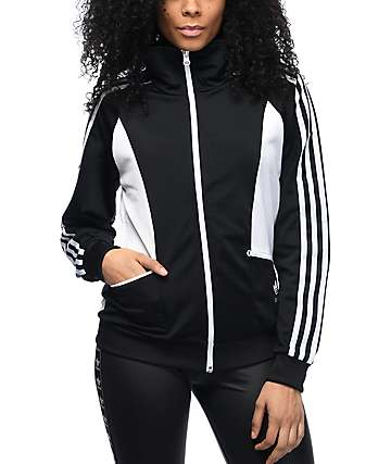 adidas Sandra Black & White Track Jacket