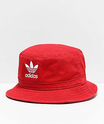 adidas Scarlet Washed Bucket Hat