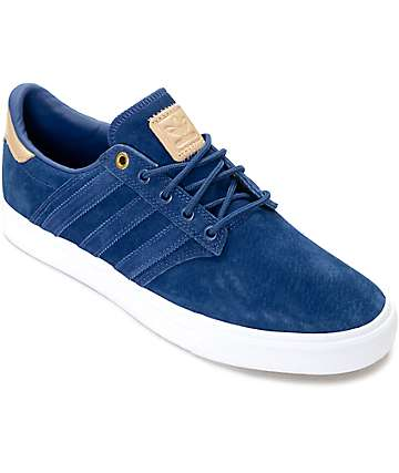 adidas Seeley Premium Class Blue & Nude Shoes