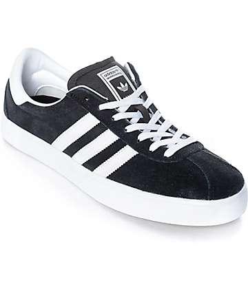 adidas Skate ADV Black, White & Gum Shoes
