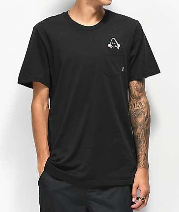 adidas Skate Pocket camiseta negra