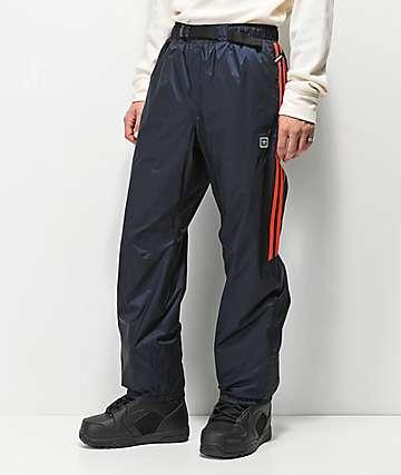 adidas Slopetrotter 5K pantalones de snowboard en negro y rojo