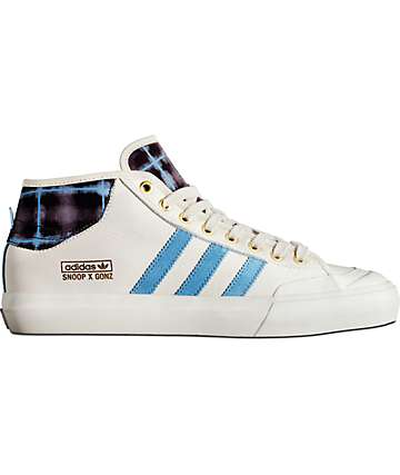 adidas Snoop x Gonz LA Stories Matchcourt Mid White Shoes