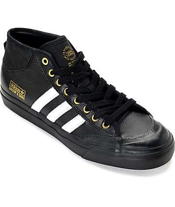 adidas Snoop x Gonz Matchcourt zapatos en blanco y negro