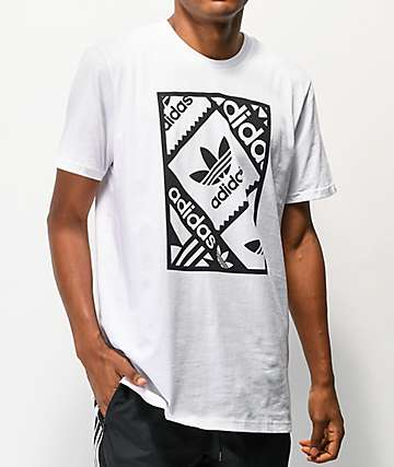 adidas Stamp White T-Shirt