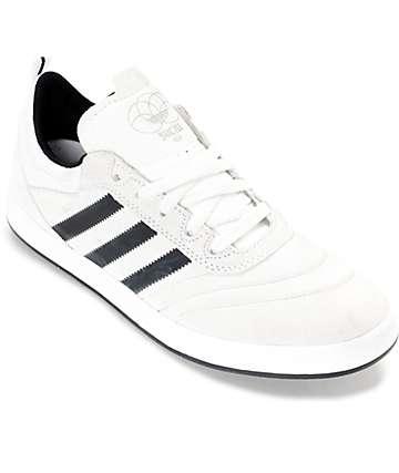 adidas Suciu ADV zapatos de ante en blanco, negro y gris