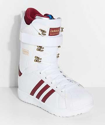 adidas Superstar ADV White Snowboard Boots