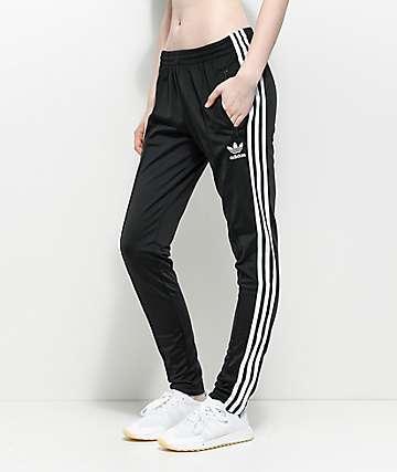adidas Superstar Black Track Pants
