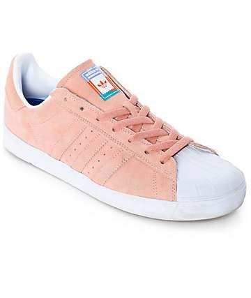 adidas Superstar Vulc ADV zapatos en rosa pastel