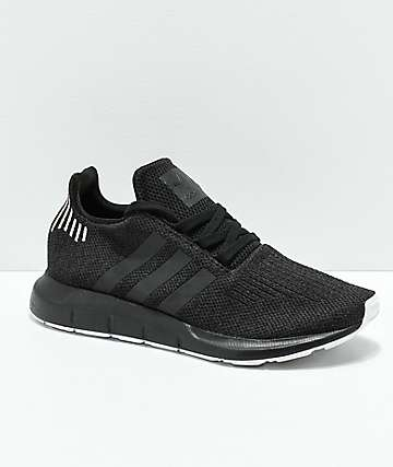 adidas Swift Black, Black & Rose Gold Shoes