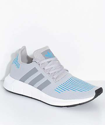 adidas Swift Run Mystery Energy White & Blue Shoes