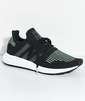 adidas Swift Run Utility Black & White Shoes