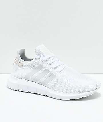 07c06271270 adidas Swift White   Rose Gold Shoes