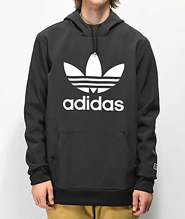 adidas Team Tech Fleece Black Hoodie