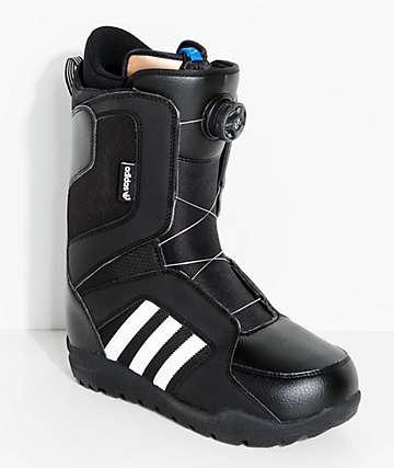 adidas Tencza ADV Black Boa Snowboard Boots