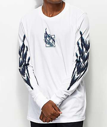 adidas Tennis Tribe White Long Sleeve T-Shirt