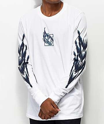 adidas Tennis Tribe camiseta blanca de manga larga