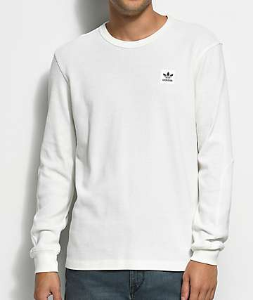 adidas Thermal White Long Sleeve T-Shirt