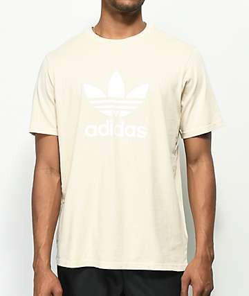 adidas Trefoil Beige T-Shirt