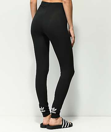 adidas Trefoil Black Leggings