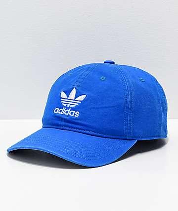 adidas Trefoil Bluebird gorra azul para hombres