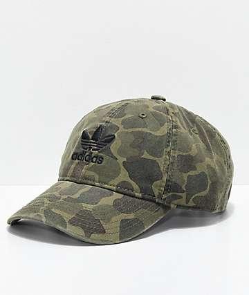 adidas Trefoil Camo Strapback Hat