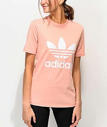 adidas Trefoil Dust Pink T-Shirt