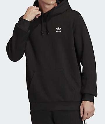 adidas Trefoil Essential Black Hoodie