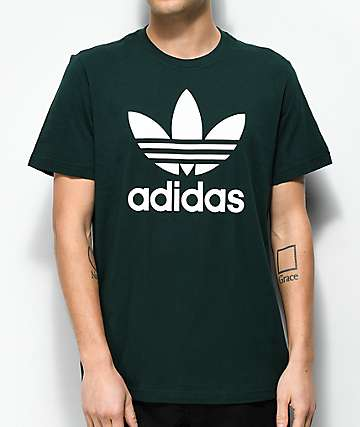 adidas Trefoil Green Night T-Shirt