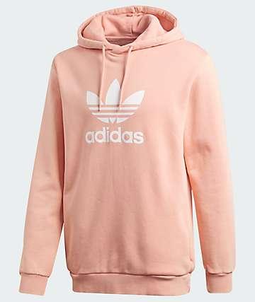 adidas Trefoil Pink Hoodie