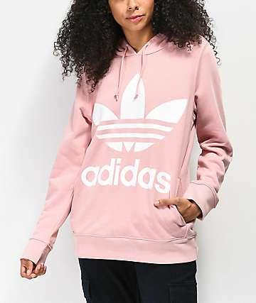 adidas Trefoil Pink Spirit Hoodie