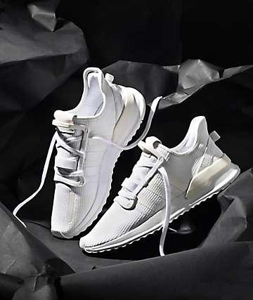 3e76564e037 adidas U Path Run All White Shoes