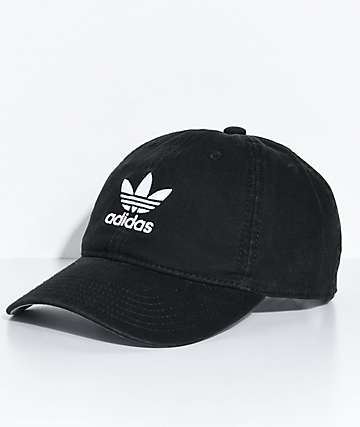 adidas Women's Black Strapback Hat