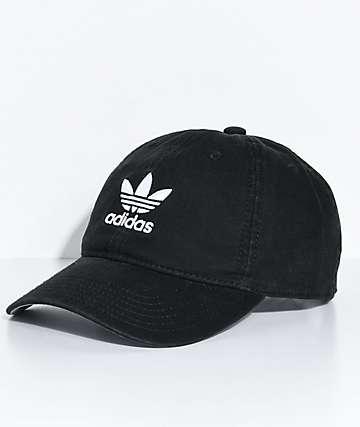 dce5100e8ed adidas Women s Black Strapback Hat