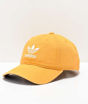 adidas Women's Original Chalk Orange & White Strapback Hat