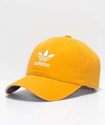 adidas Women's Original Trace Yellow Strapback Hat