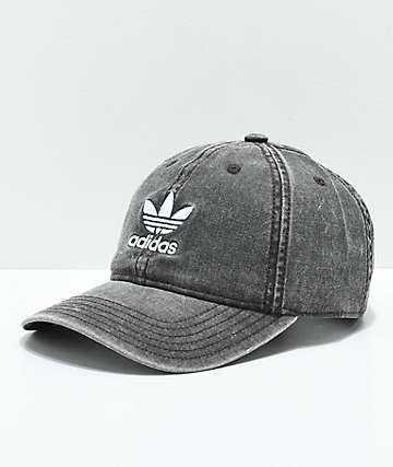 adidas Women's Originals Black & White Strapback Hat