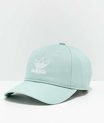 541cf581b3d adidas Women s Originals Relaxed Outline Slate Green Strapback Hat