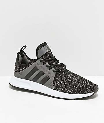 adidas Xplorer Black, Grey & White Shoes