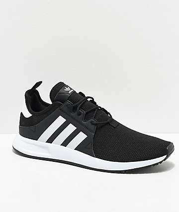 4b2515e66838 adidas Xplorer Black   White Shoes